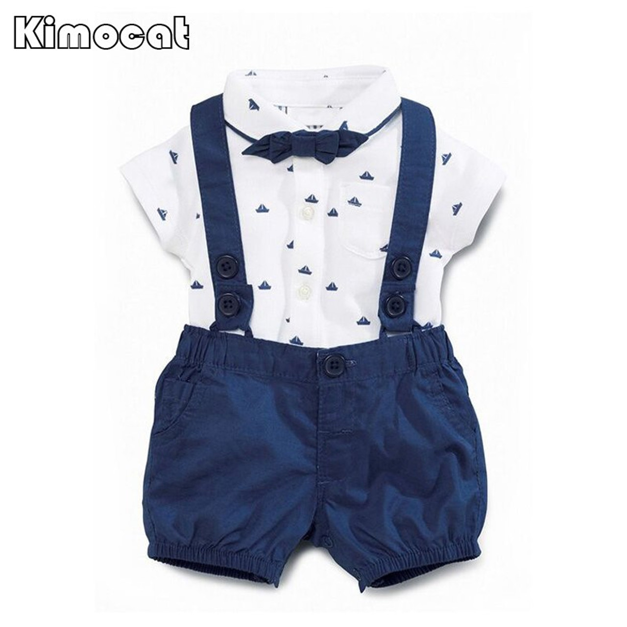 f94f1f313 ... Newborn Baby Boy Clothes Childrens Infant Clothing Sets Kids Baby Boy  Suit gentleman clothes T- ...