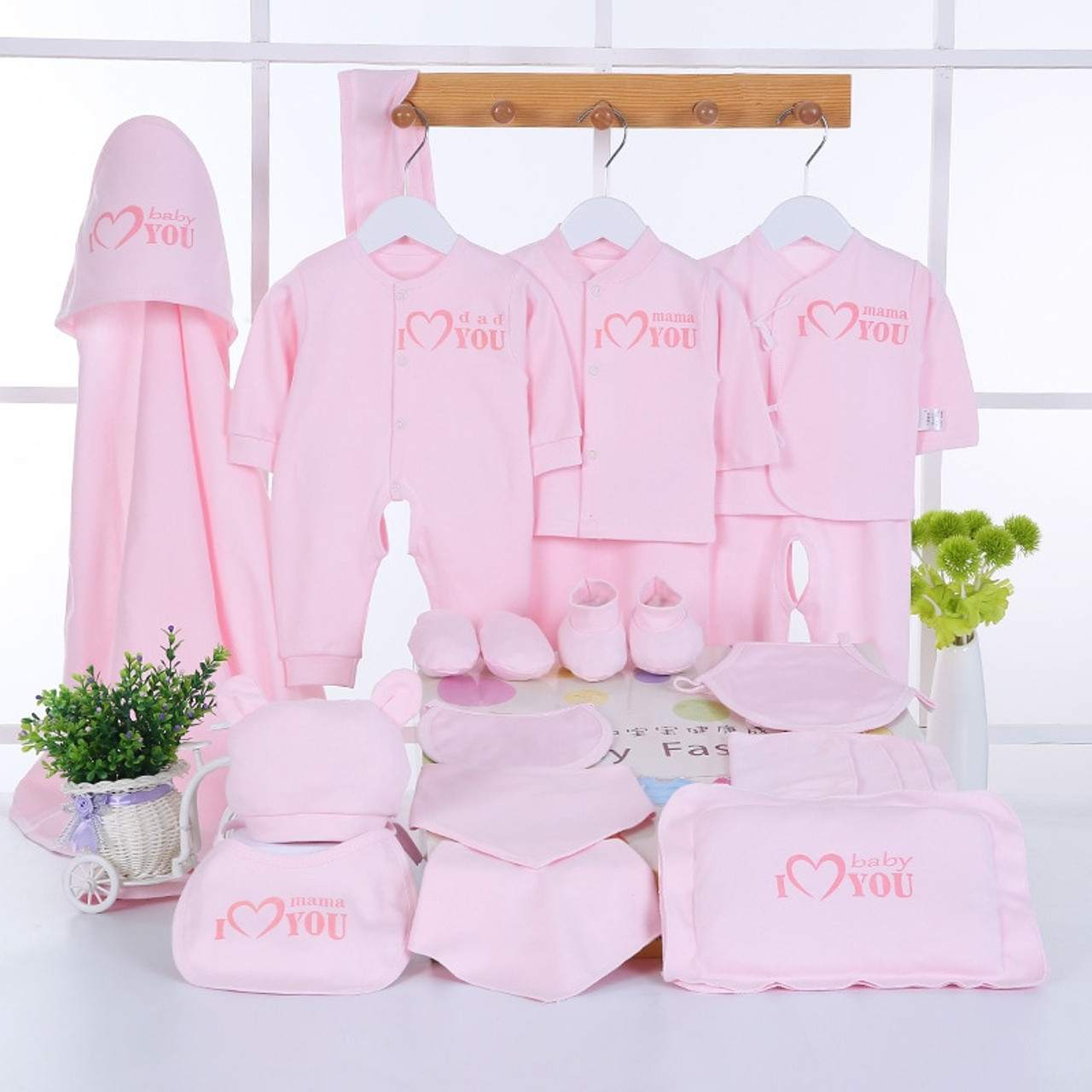 1cbeafe97cbd Emotion Moms Newborn Baby Clothing Set Brand Baby Boy Girl Clothes Set 100% Cotton  New Born Baby Clothes Underwear 22PCS set - OnshopDeals.Com