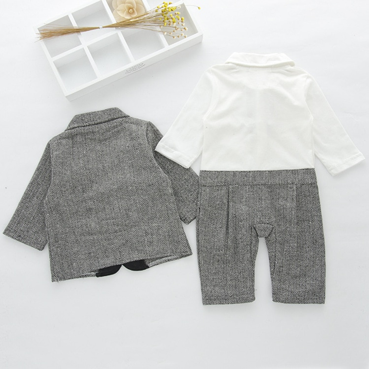 f3c54e66cdf7 ... NYAN CAT Baby boy clothes Gentleman Bow tie Romper Coat outfit Holiday Wedding  Party Wear Baby ...