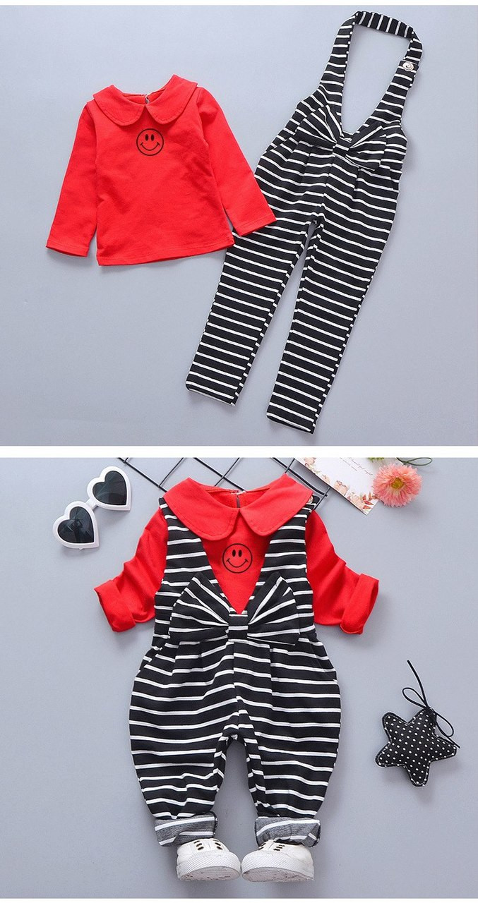 d996522ed6a1 BibiCola 2018 newborn clothes baby girls clothing set fashion ...
