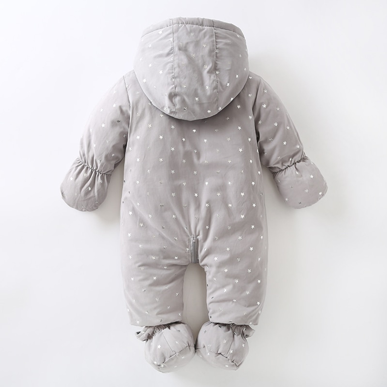 5745409dd16dd ... Newborn baby romper Winter 2018 baby girl boy Snowsuit warm baby girls  clothing hoodies Newborn overalls ...
