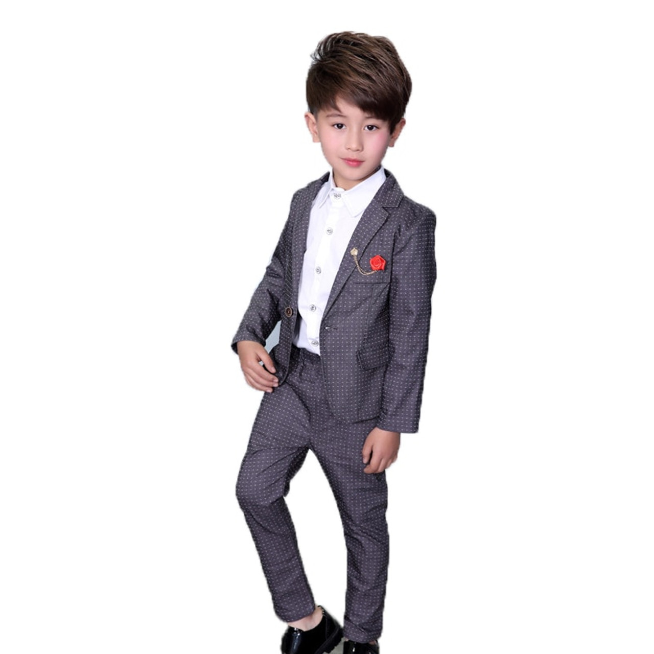1d6fea92f15e Ceremonial Baby Boys Birthday Dress Suits For Weddings Party Tuxedos ...