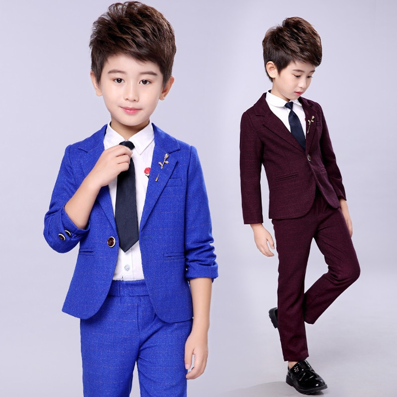 Studern School Boys Kids Tie Children Baby Wedding Party Formal Ball Tie Necktie