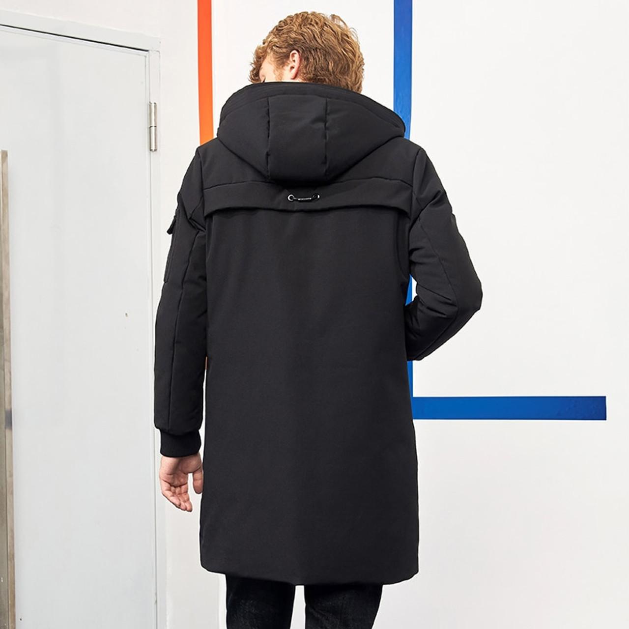 3195be12d48 ... Pioneer Camp waterproof thick winter men down jacket brand-clothing  hooded warm duck down coat ...