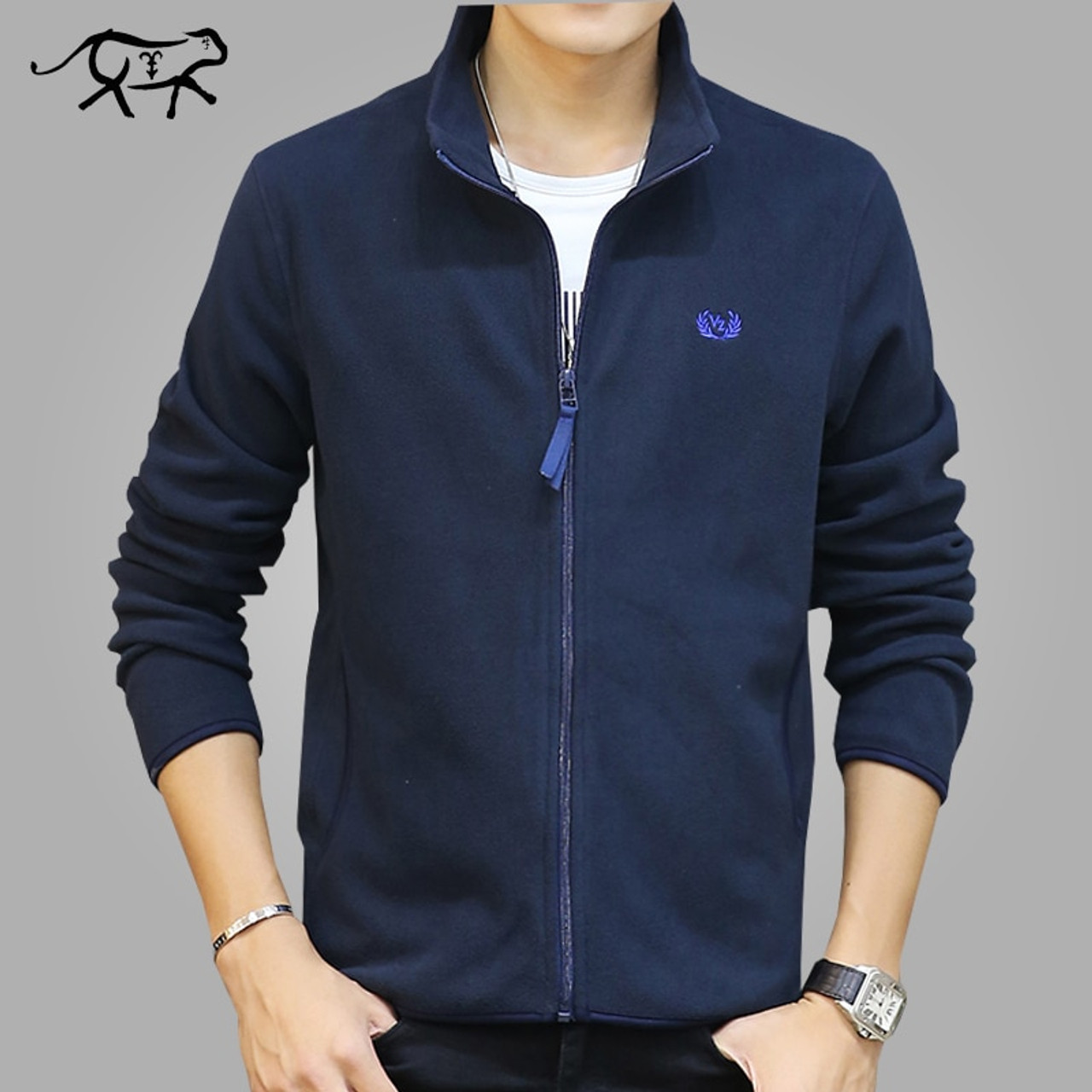 Brand Clothing Jacket Men Fashion Mens Spring Jacket Casual Slim Fit Outerwear  Fleece Men's Jackets and Coats Jaqueta Masculina - OnshopDeals.Com