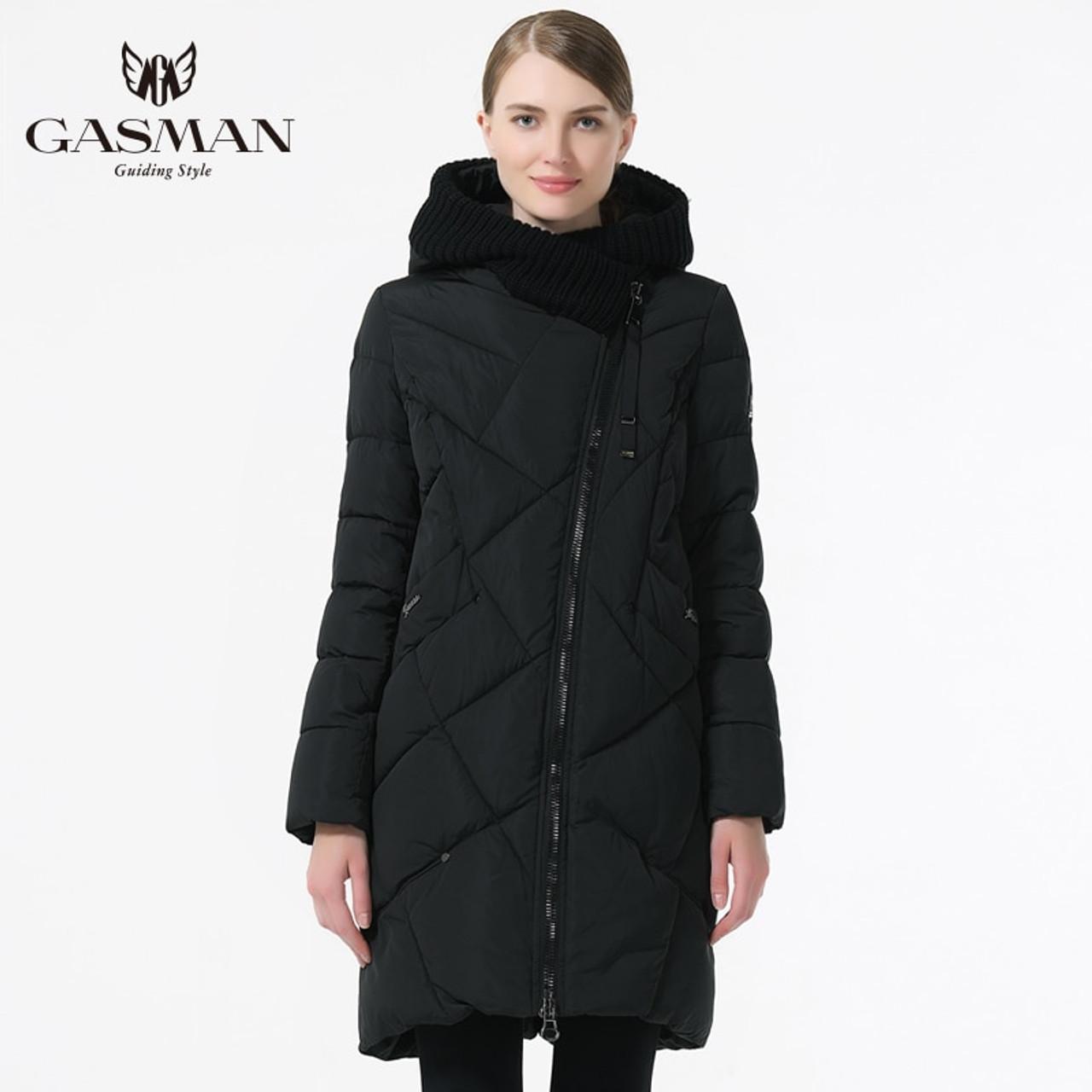 6278f385c19 ... GASMAN 2018 New Winter Collection Brand Fashion Thick Women Winter Bio Down  Jackets Hooded Women Parkas ...