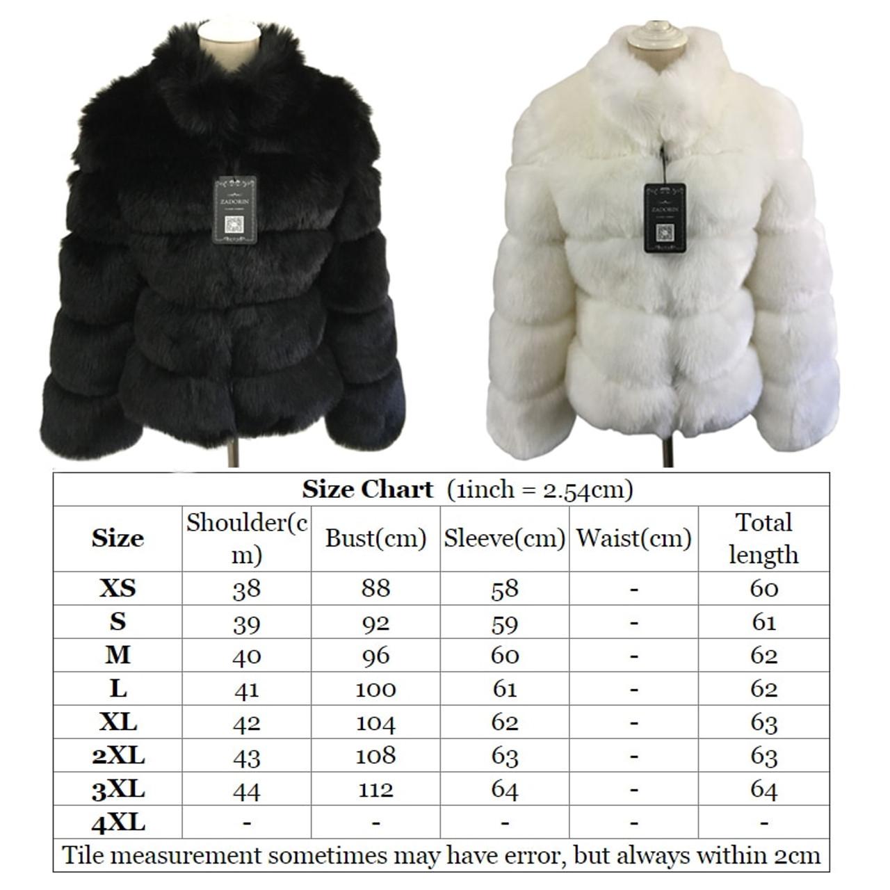 83d97c927d5 ... ZADORIN 2018 New Winter Coat Women Faux Fox Fur Coat Plus Size Women  Stand Collar Long ...