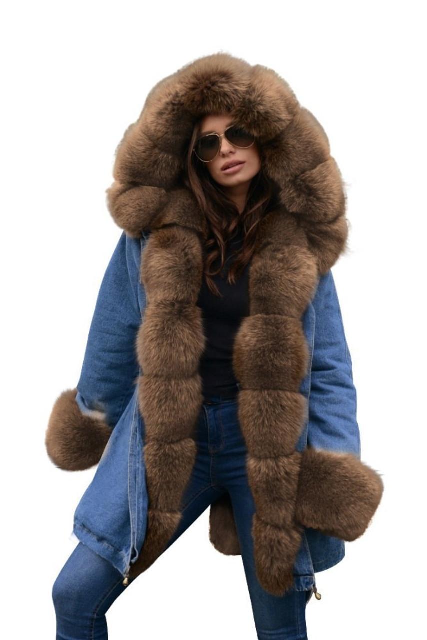 f26bae7727c ... Ruiyige 2018 Winter Jacket Women Cotton Wadded Fur Hooded Coat Casual Ladies  Warm Parkas Women Winter ...