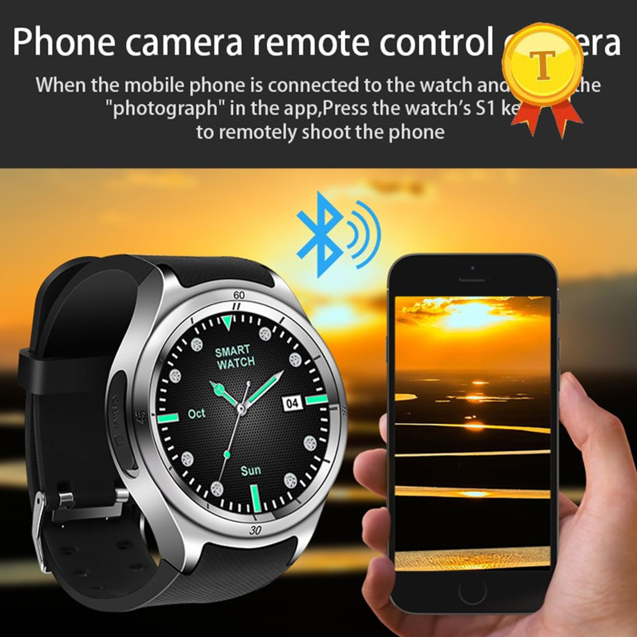 2018 best selling Smart watch 3G watch for men WiFi GPS SmartWatch MTK 6580  calorie 2 0MP Camera Pedometer Heart Rate phonewatch