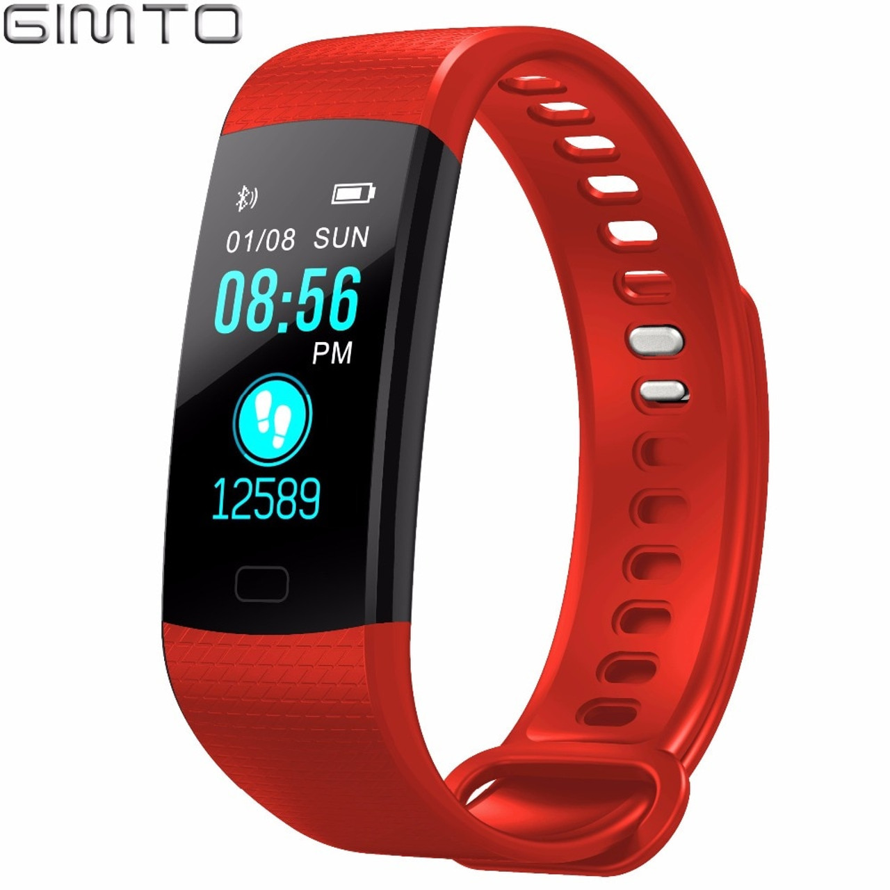 Watches Fashion Style Bluetooth Sport Smart Bracelet Women Men Children Digital Watch Waterproof Clock Heart Rate Blood Pressure For Android Ios Men's Watches