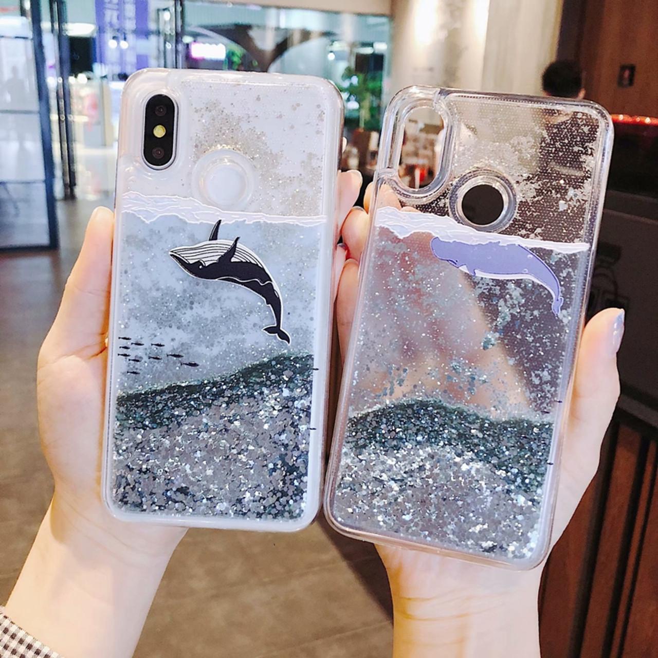 new styles 9a109 ad93c Dynamic Liquid Case for xiaomi redmi note 5 pro Quicksand Back Cover redmi  5 plus Phone Case for xiomi redmi note 5 Back Cases