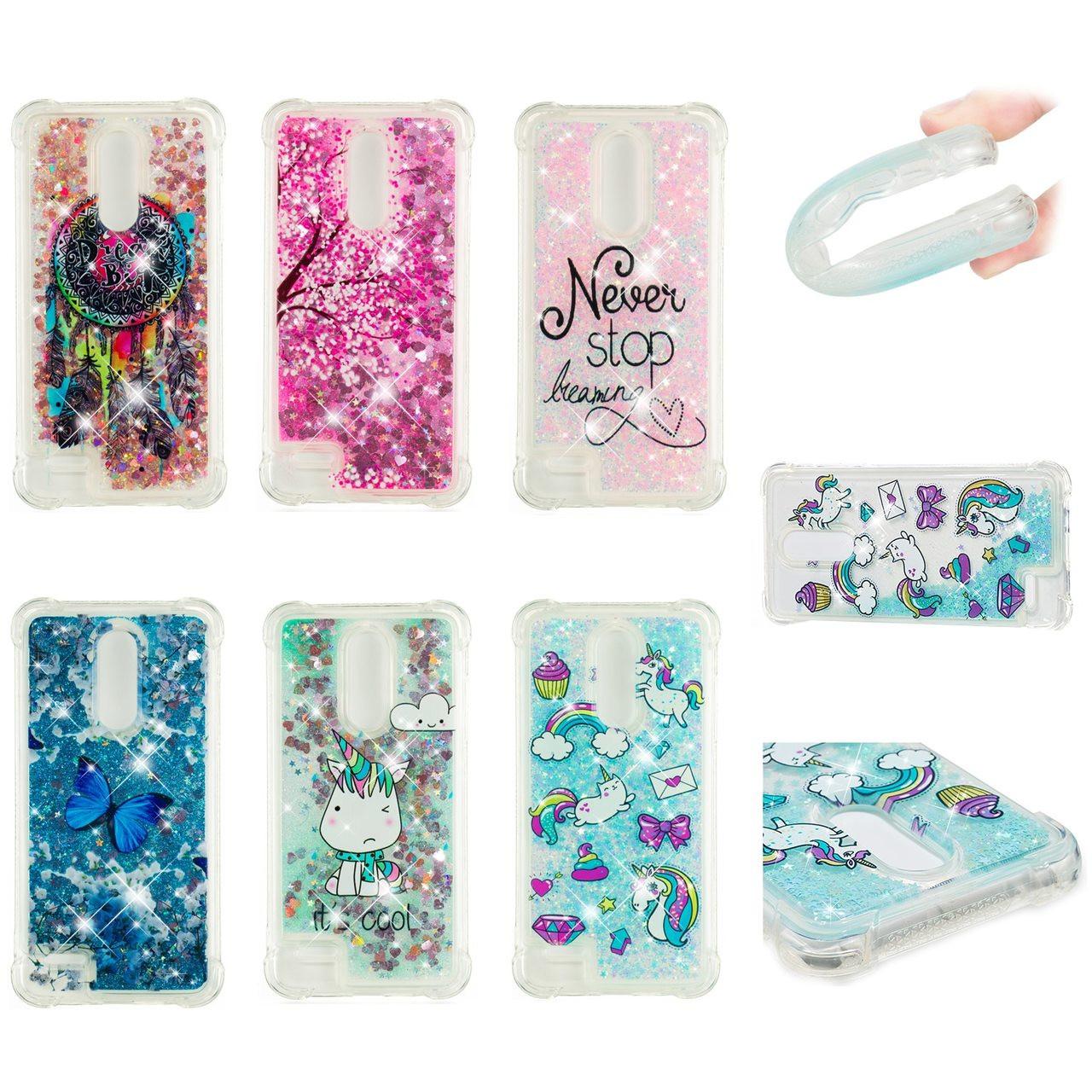Water Liquid Case for LG K4 K8 K10 2017 2018 STYLO 3PLUS V20 V30 Unicorn  Horse Sparkle Quicksand Shockproof TPU Cover Phone Case - OnshopDeals.Com 8f566fcc7