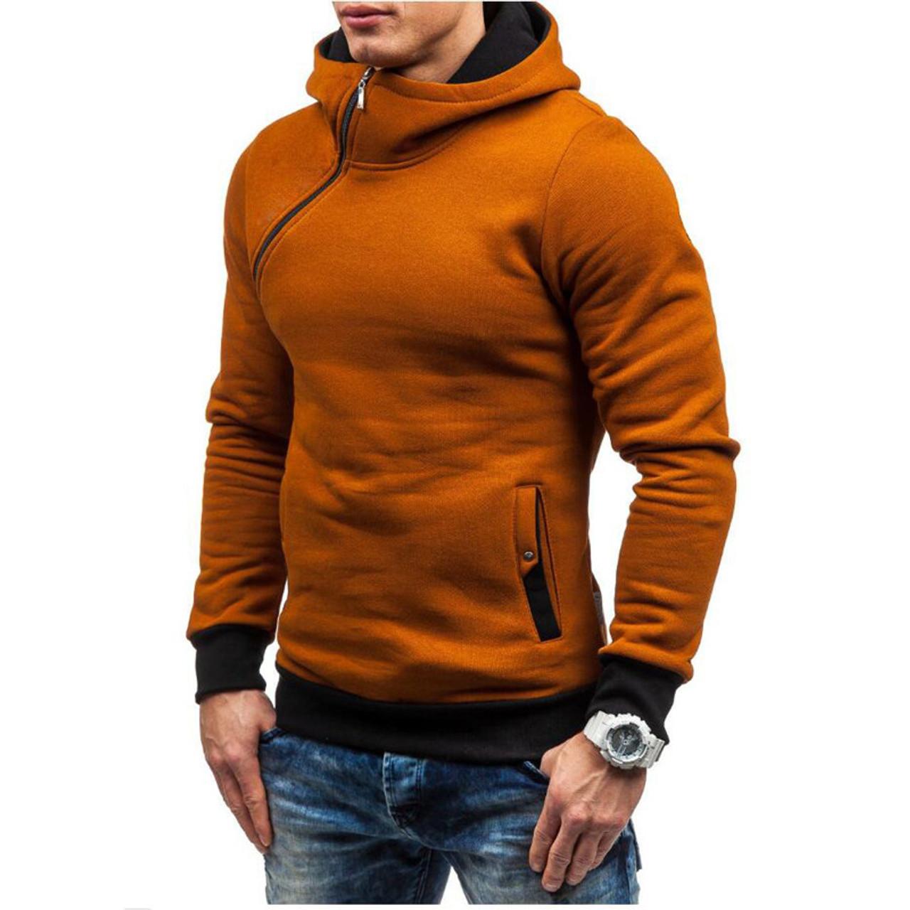 Men's Clothing Brand 2018 Hoodie Slim Soild Color Hoodies Men Fashion Tracksuit Male Sweatshirt Hoody Mens Purpose Tour Xxl