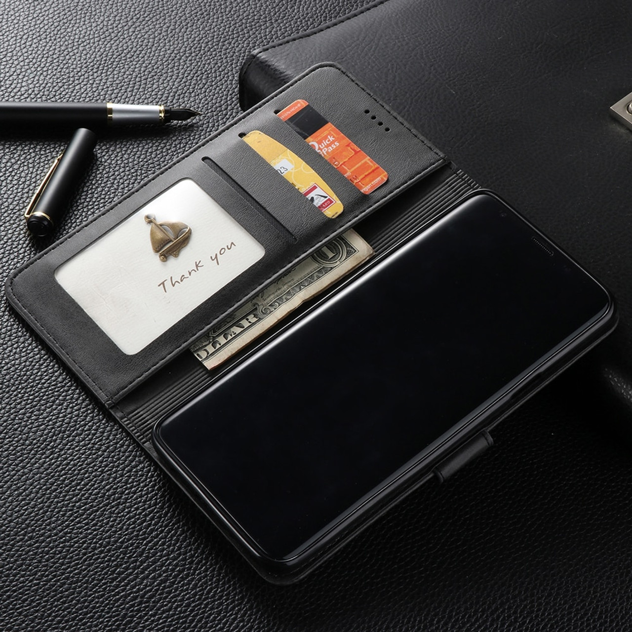 c8468a39524 ... Fundas For Samsung Samsun Note 9 8 Note8 Leather Flip Book Wallet Stand  Phone Case etui ...