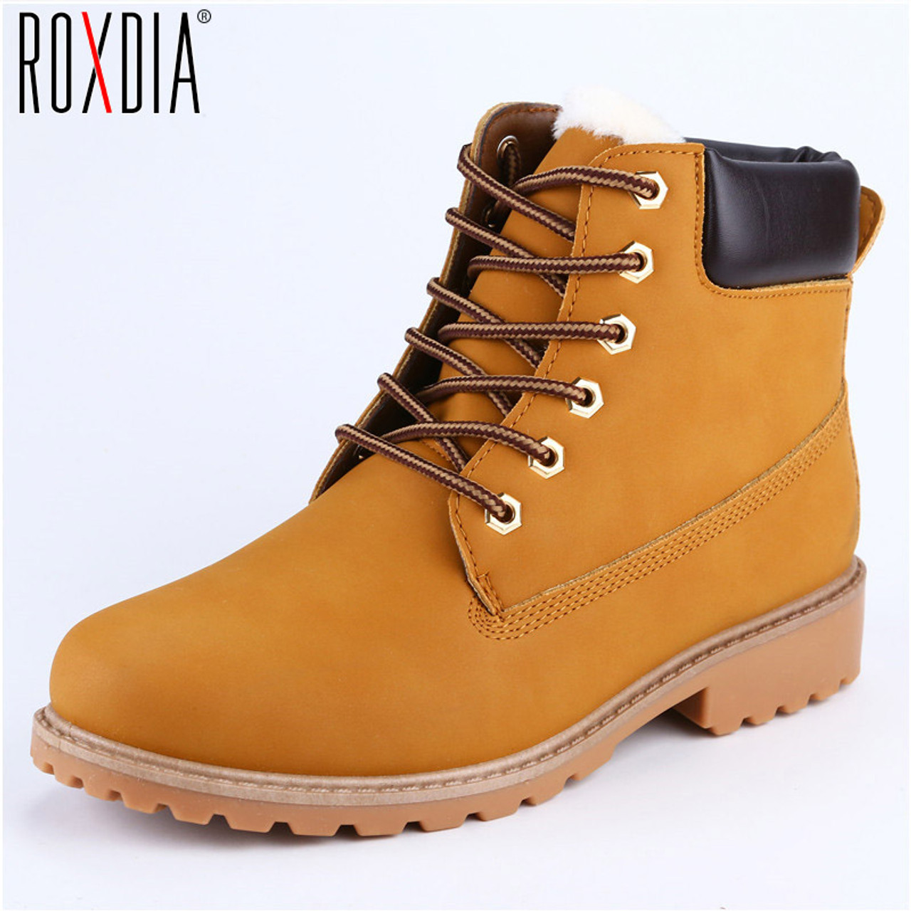 307f0bbd92b Faux Suede Leather Men Boots Spring Autumn And Winter Man Shoes Ankle Boot  Men's Snow Shoe Work Plus Size 39-46 RXM560