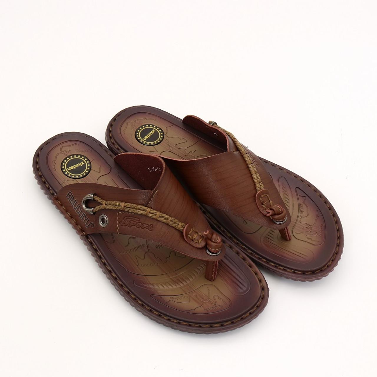928181022f2f ... BIMUDUIYU Luxury Brand Flip Flops Soft comfortable Microfiber Leather  Slippers Beach Slipper Flip Flop Summer Shoe ...
