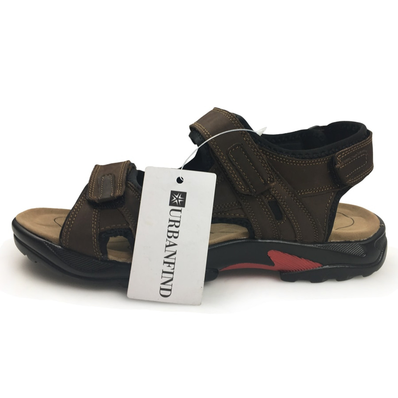 e44de79a3 ... Top quality sandal men sandals summer genuine leather sandals men  outdoor shoes men leather sandals plus ...