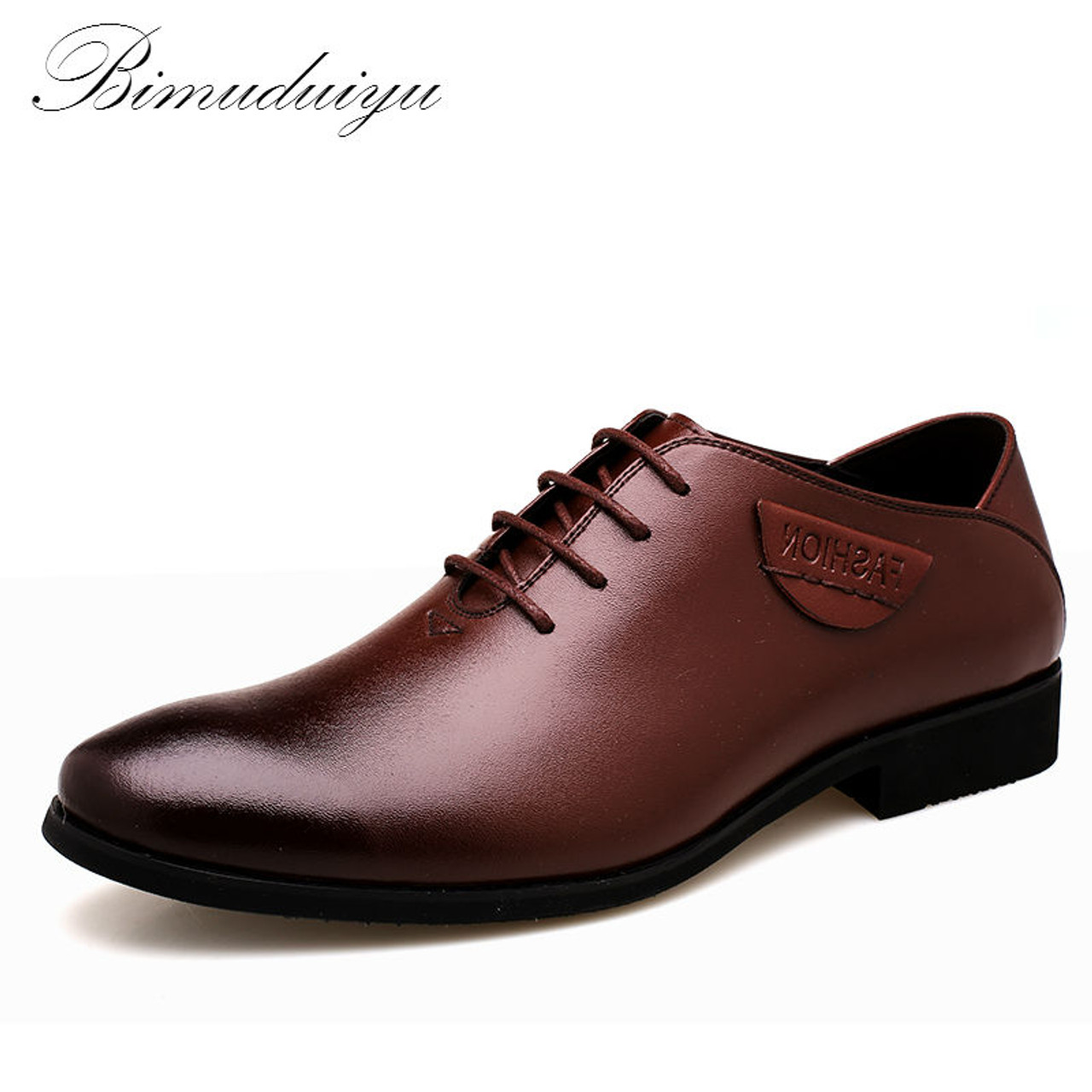 480e24983e6a Imported Hot Clearance Business Men s Casual Shoes Minimalist Design Dress  Suits Shoes City Style Leather Flat ...