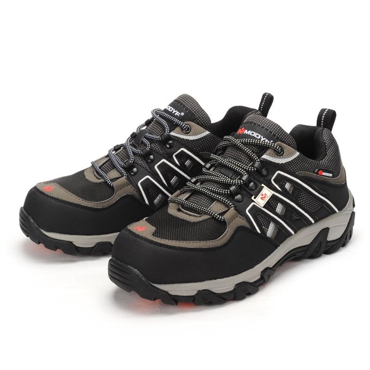 Men Steel Toe Safety Work Shoes Hiking Sneaker Multifunction Steel Protection Footwear Puncture Proof Construction Safety Boots Work & Safety Boots