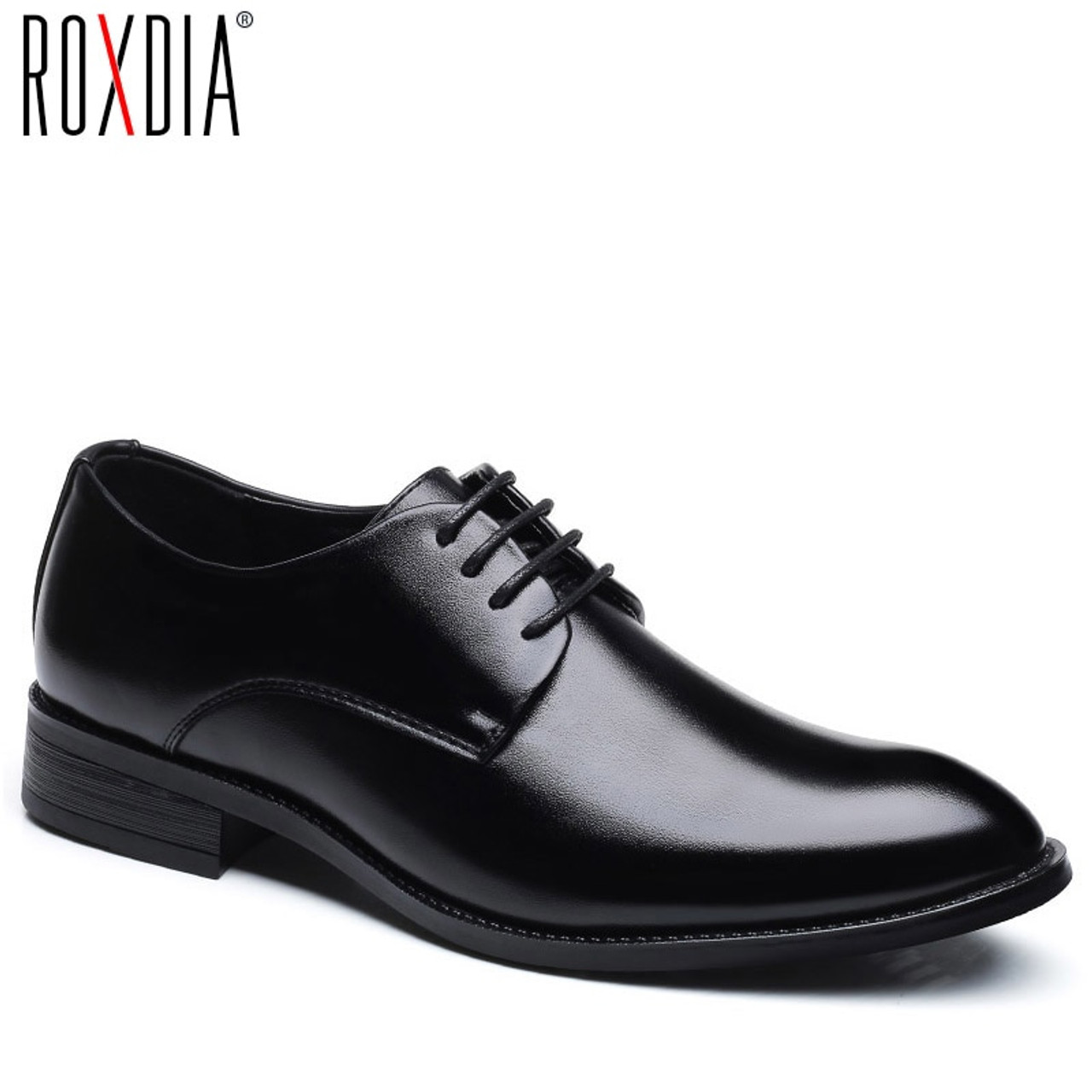 Mens Wedding Shoes.Roxdia Men Wedding Shoes Microfiber Leather Formal Business Pointed Toe For Man Dress Shoes Men S Oxford Flats Rxm081 Size 39 48