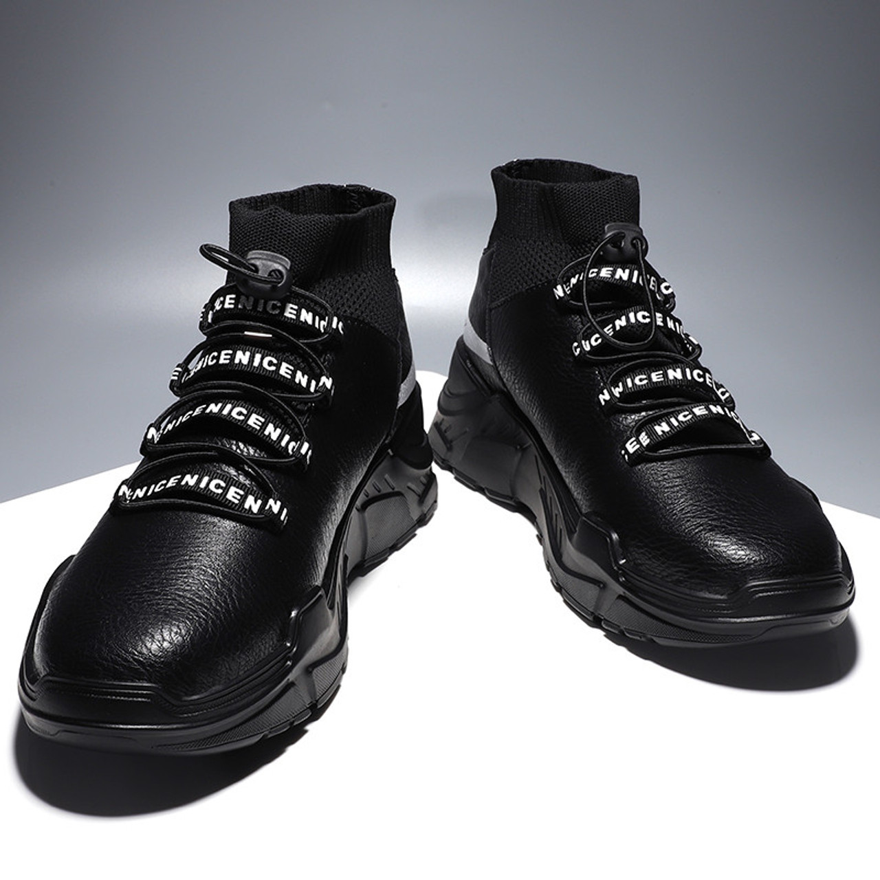 designer fashion the sale of shoes buy best Hot Sale Autumn Winter Sneakers Breathable Fashion Shoes Men Casual Light  Mens Luxury Brand Designer Leather Black Male Shoes