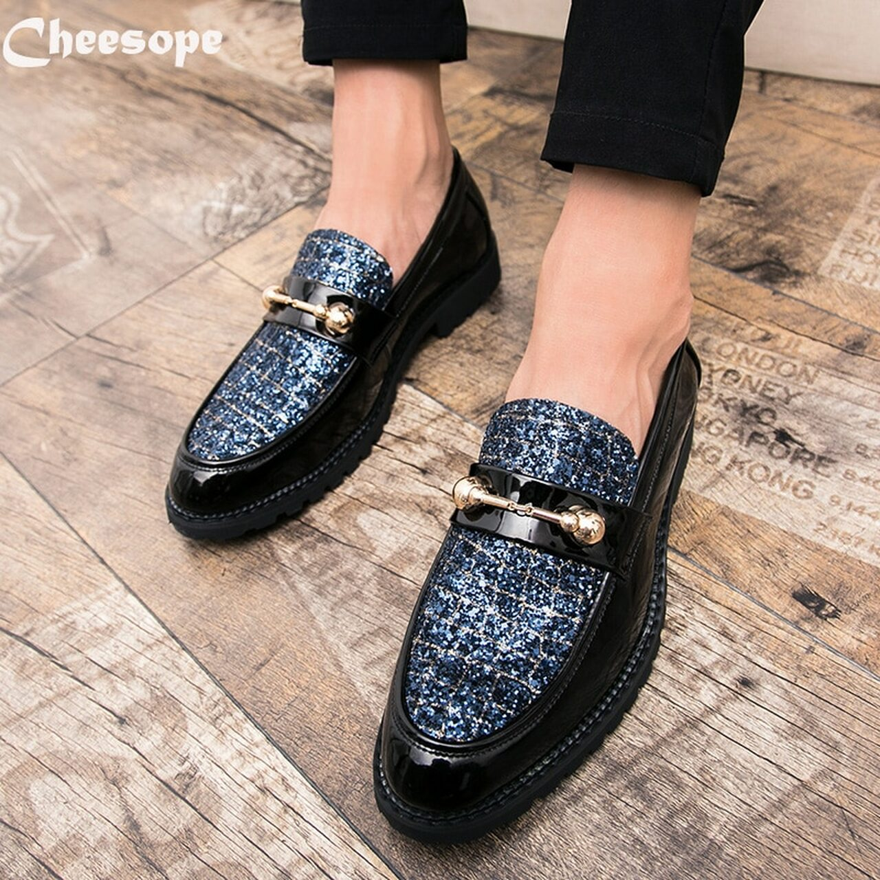 3385d00db ... Fashion Men Oxford Shoes Casual Business Men Shoes Brand Wedding Shoes  Luxury Italian style Dress Office ...