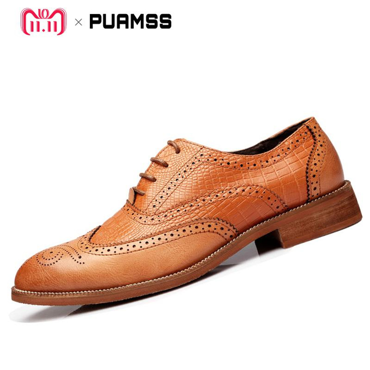 2017 HOT Mens Britain Loafers Oxfords Dress Formal Lace Up Casual Leather Shoes