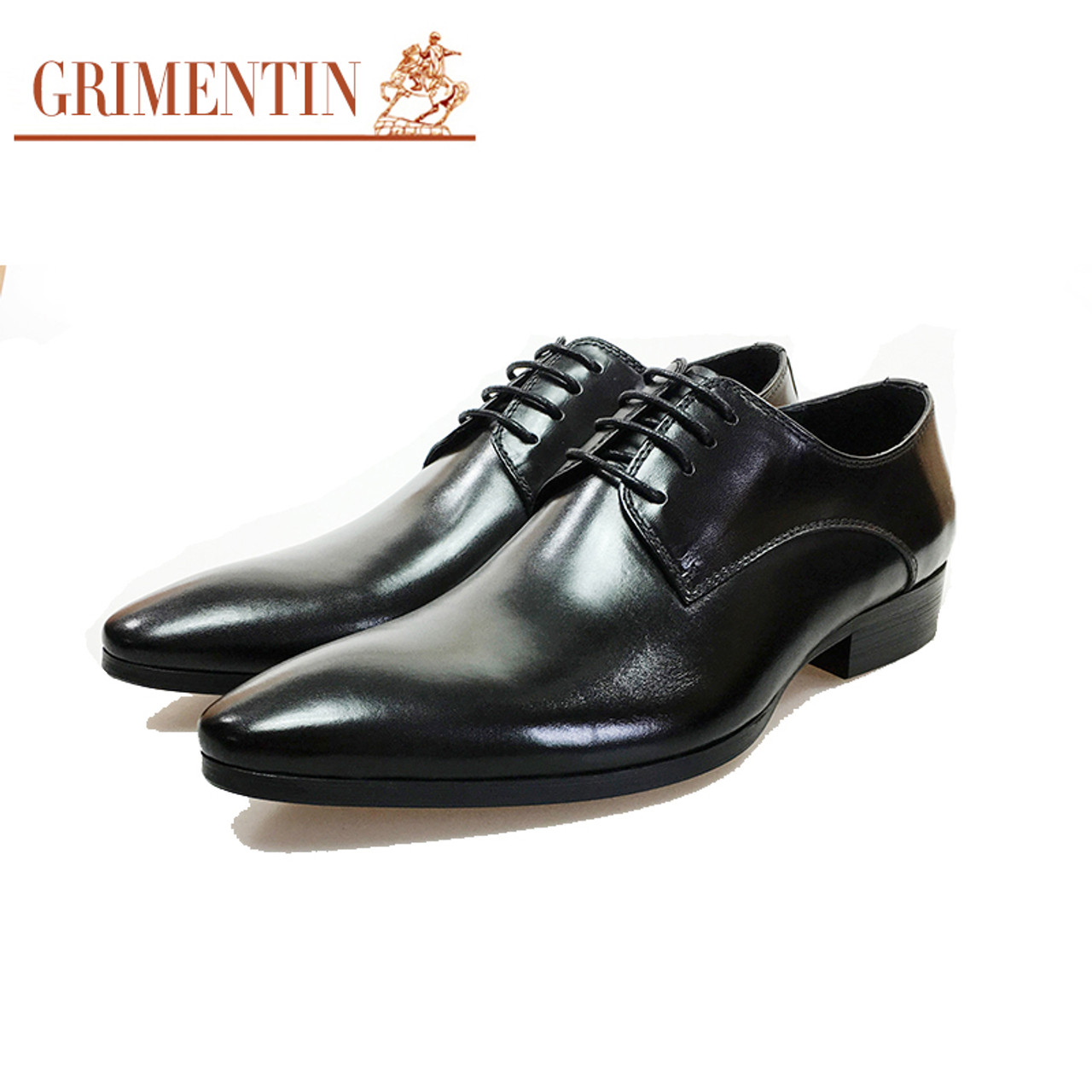 793af5077d GRIMENTIN Brand Italian mens formal shoes genuine leather comfortable high  quality wedding shoes male 2017