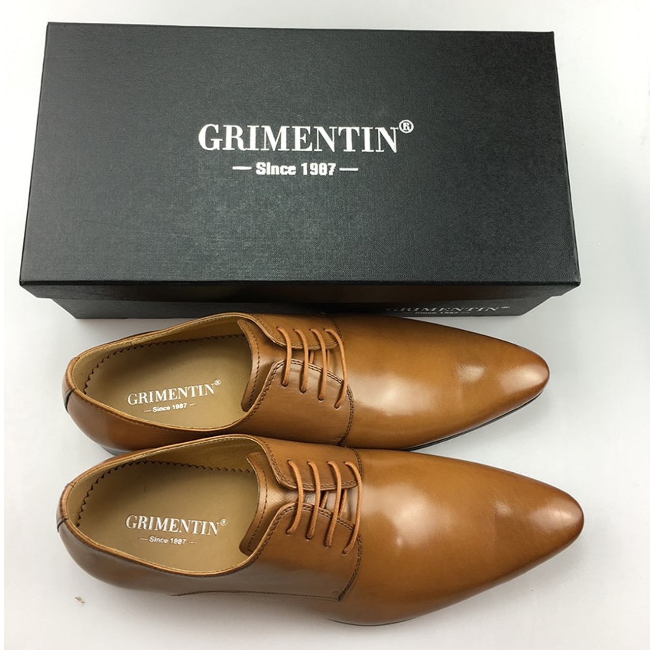 34817fabd178 ... GRIMENTIN Brand Italian mens formal shoes genuine leather comfortable  high quality wedding shoes male 2017 ...