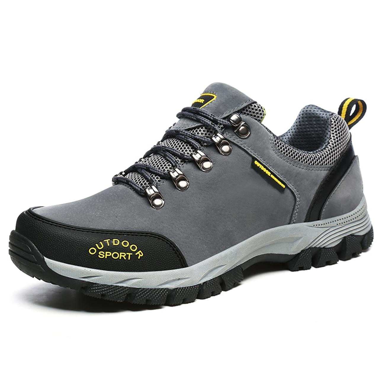 d8398a7d2f ... VANCAT Men Big Size 39-49 Fashion Men Shoes Comfortable Waterproof  Outdoor Casual Shoes Lace ...