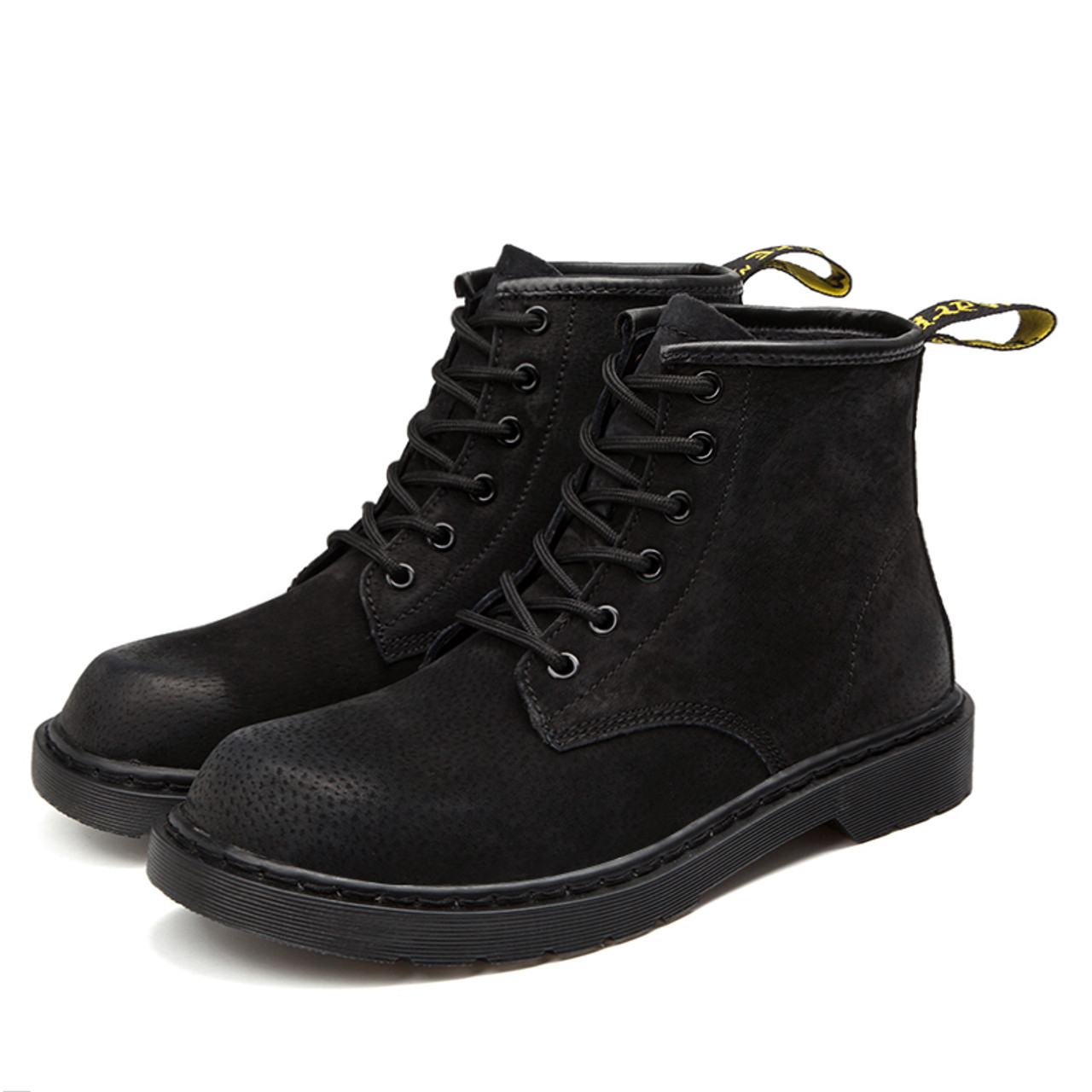 82784007e5f ... Vancat Brand Warm Men s Autumn Winter Genuine Leather Men Waterproof Snow  Boots Work Safety Ankle Boots ...