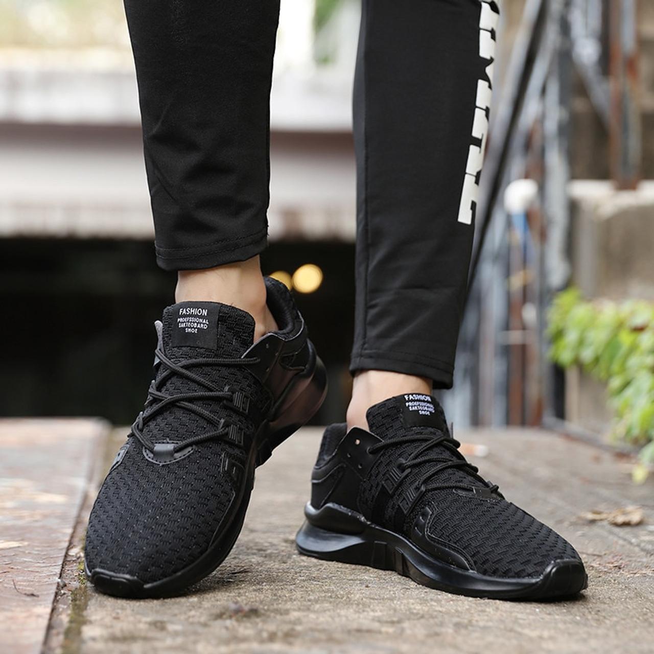 PINSV Summer Shoes Men Sneakers