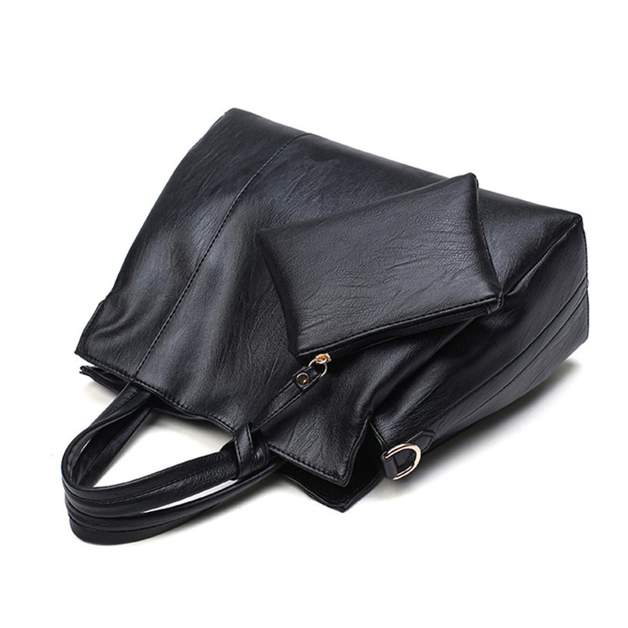 c241cdc6be9e ... Luxury Handbags Women Bags Designer High Quality PU Leather Handbags  Solid Tote Bag For Women 2 ...