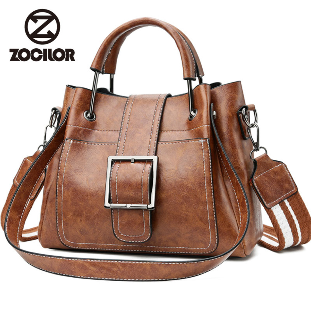 35e61b738dba Fashion Women Messenger Bags Vintage Belts Shoulder Bags Women Handbags  Designer high quality PU Leather Ladies Hand Bags Sac - OnshopDeals.Com