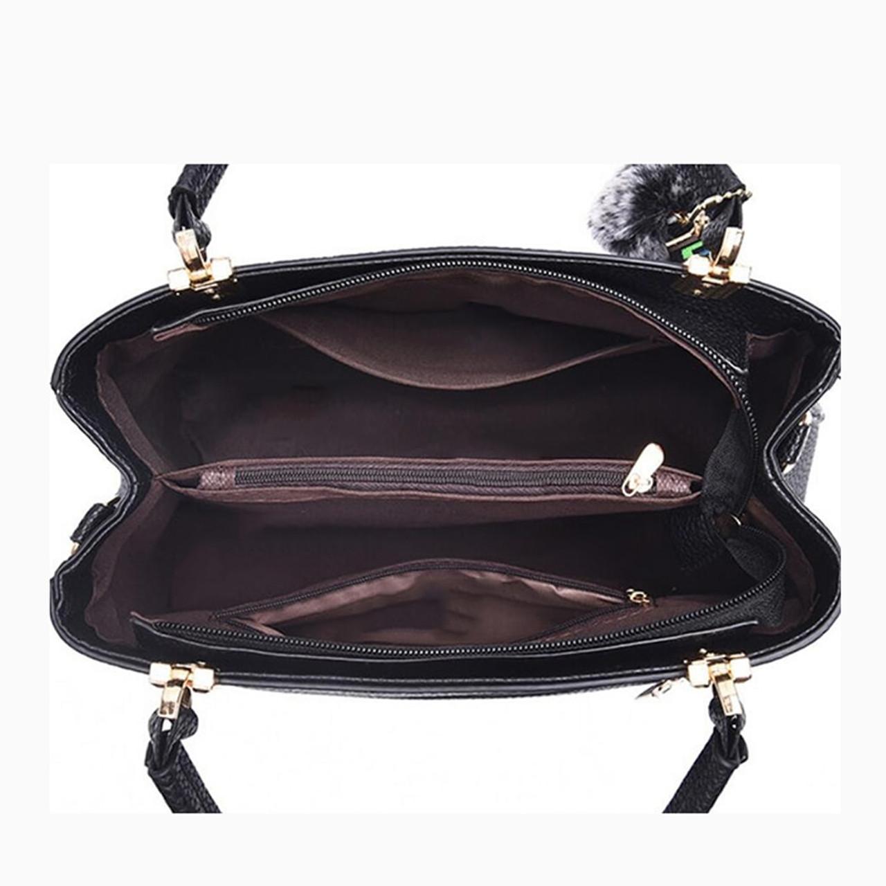 0e8391a1b5a3c ... Women Bag Vintage Messenger Bags Shoulder Handbag Women Top-Handle  Leather Imitation Pattern Composite Bag ...