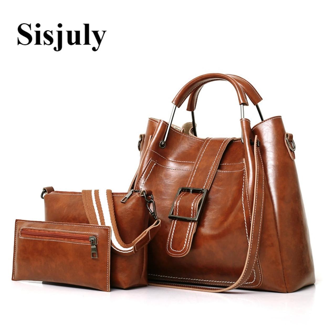 Sisjuly Women Bags Leather Luxury Handbags Famous Brands Female Shoulder  Bags Designer Crossbody Bags For Women s Messenger Bag - OnshopDeals.Com 406b4b3e6fd00