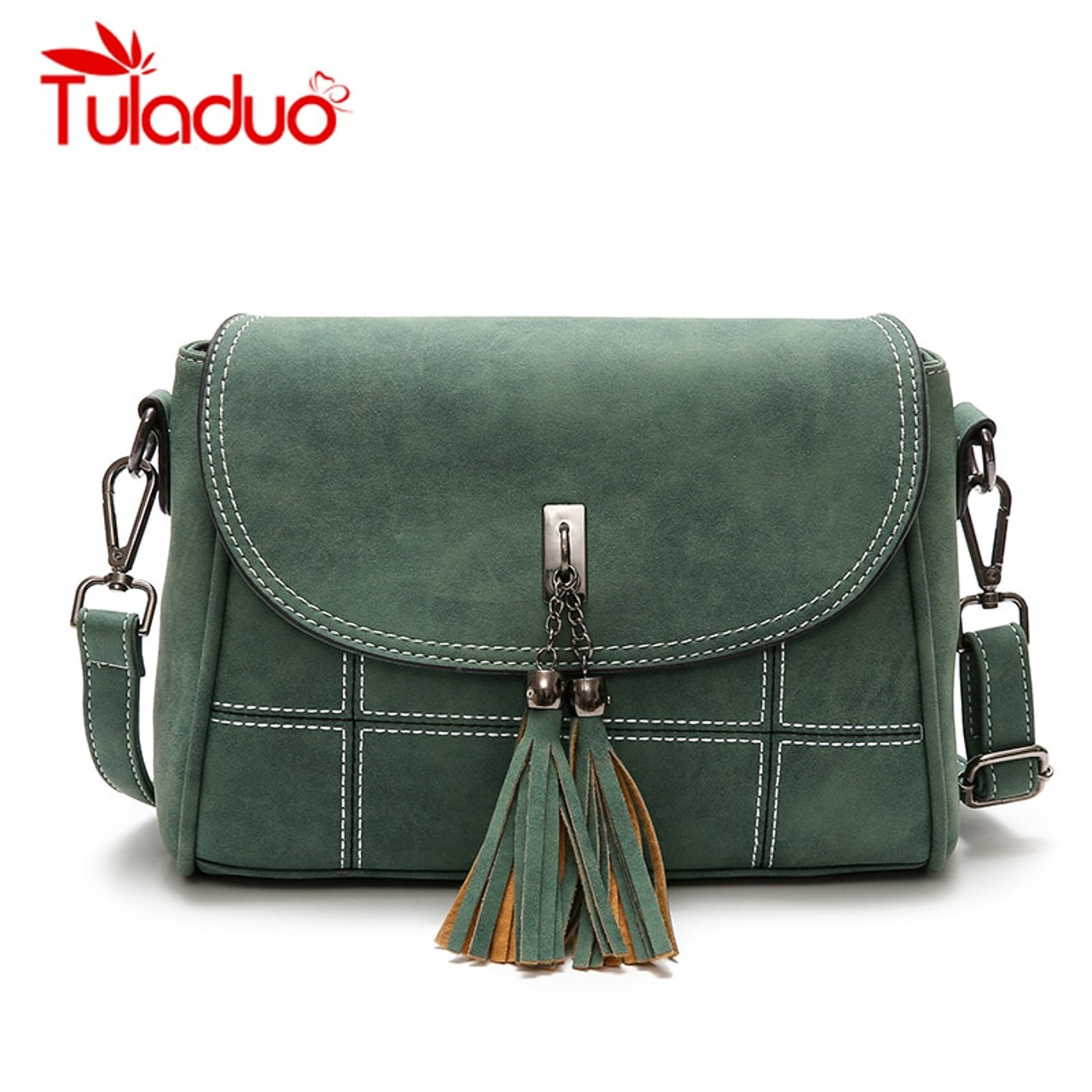 bc593355f8 Nubuck Tassel Women Messenger Bags Women Designer Women Handbags High  Quality Bags Female Shoulder Bag Woman ...