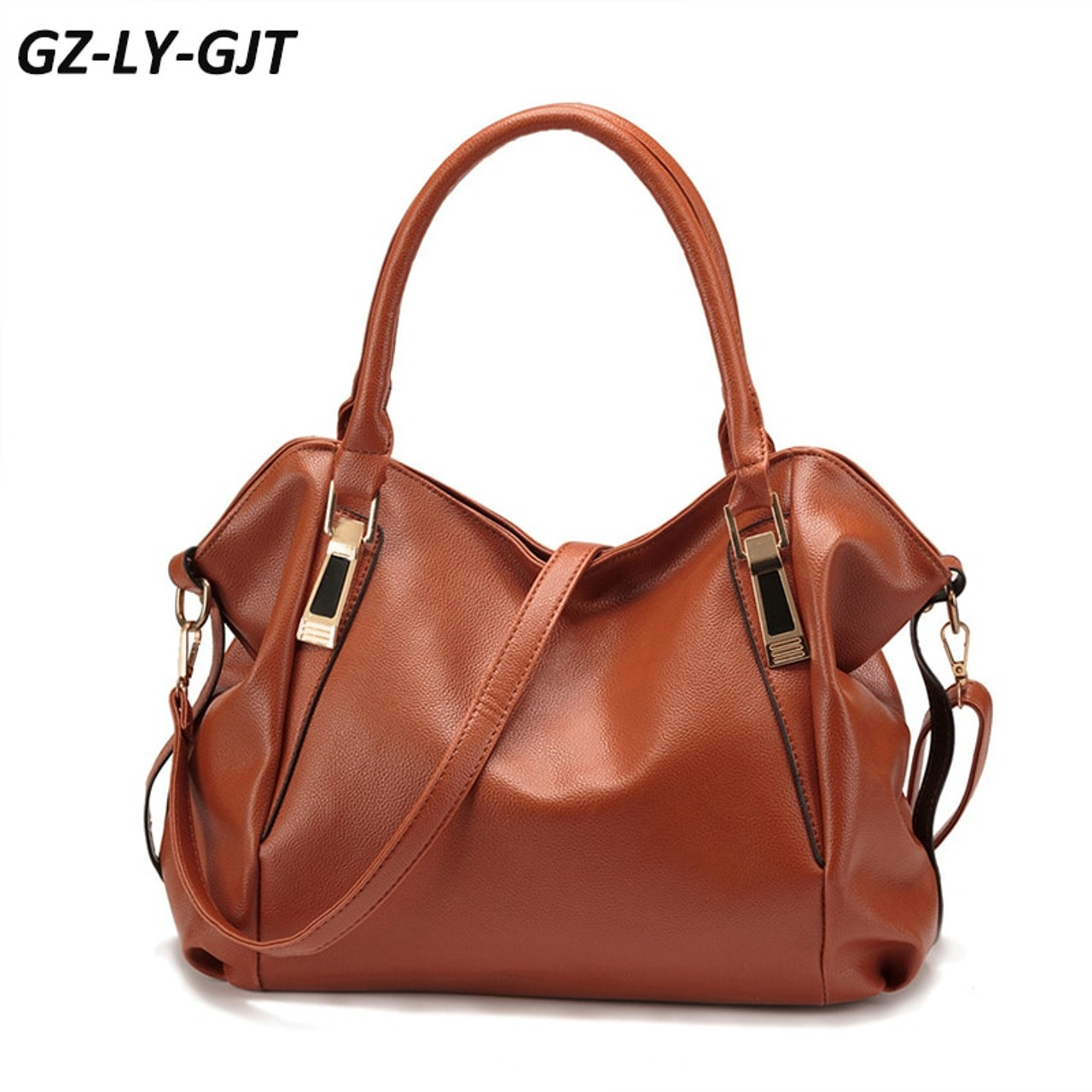 4776f6a06482 GZ-LY-GJT Fashion Designer Handbag Female PU Leather Bag Office Ladies  Portable Shoulder Bag Sac A Main For Women Messenger Bags - OnshopDeals.Com