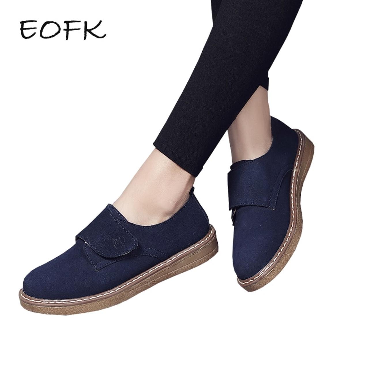 EOFK Autumn New Fashion Women Loafers