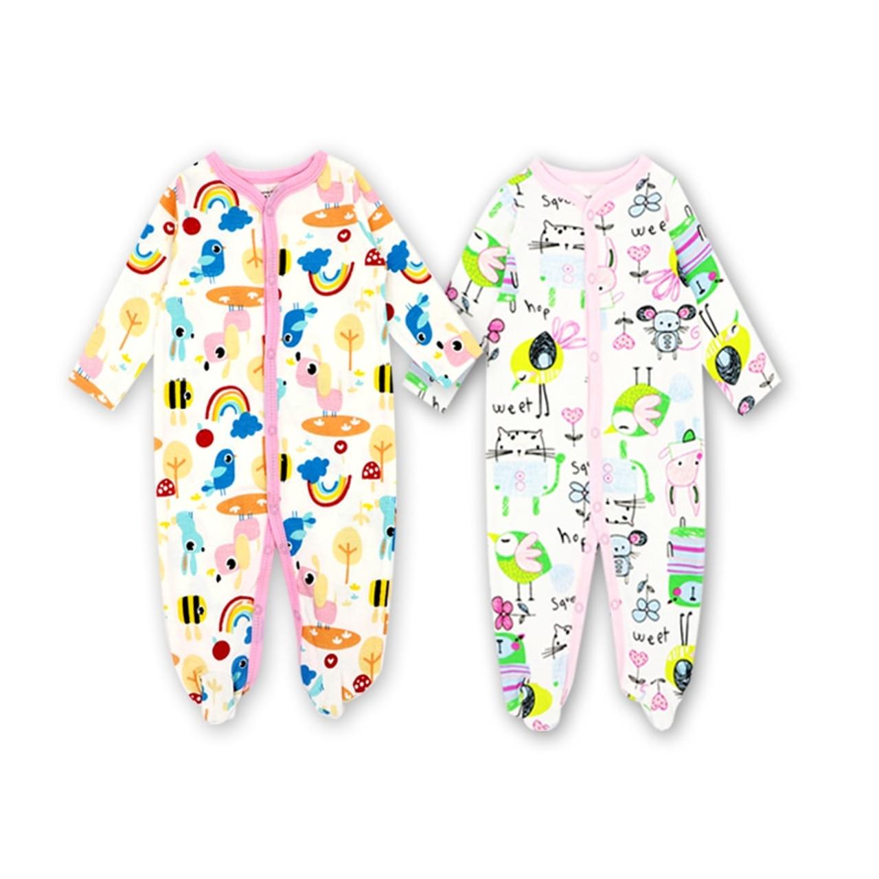 85d6d5c27972 ... 2 3Pcs Lot100%Cotton baby rompers suit newborn baby girls boys clothes  Long ...