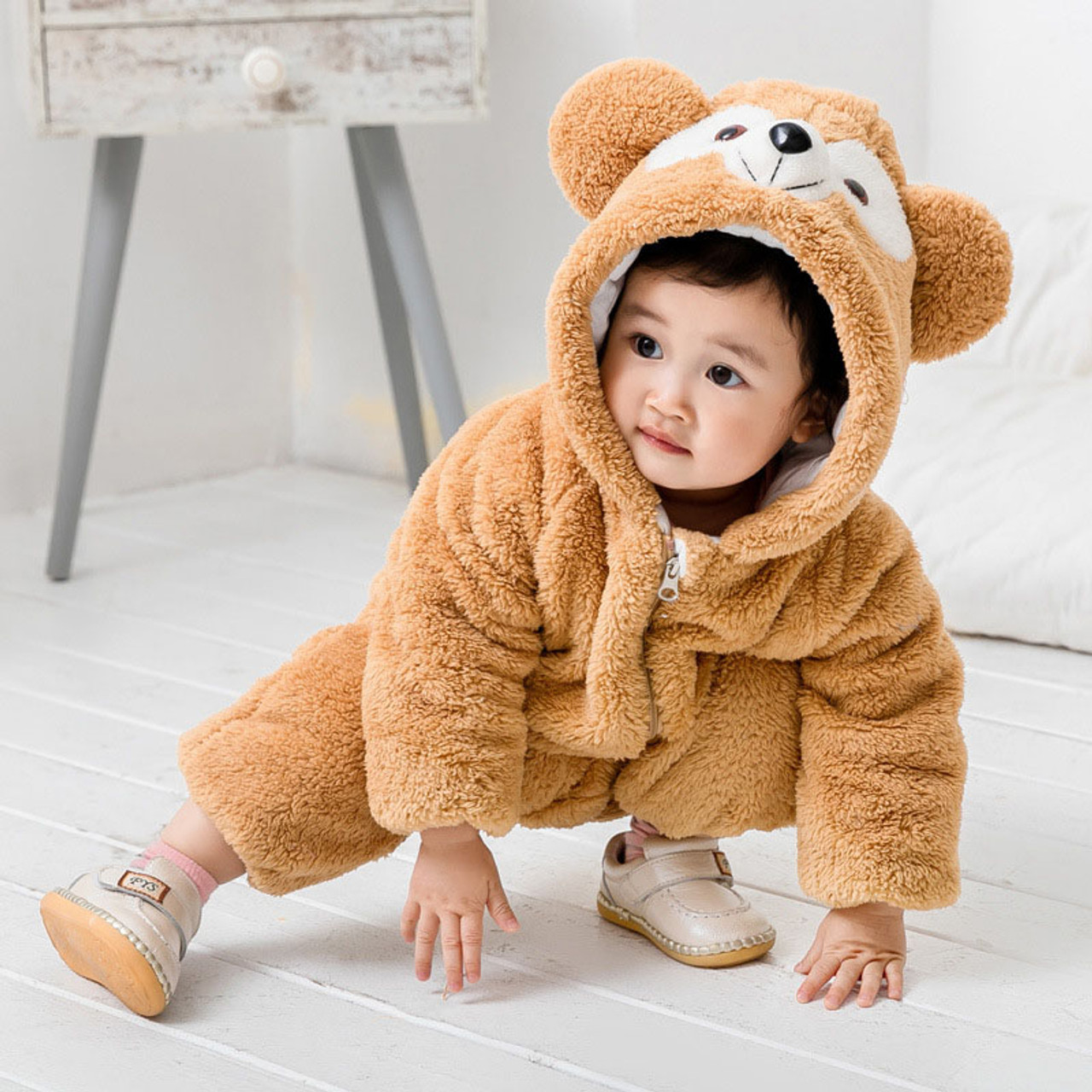 67d72509c 2018 Winter Baby Rompers for Infant Boys and Girls Overalls Bodysuit ...