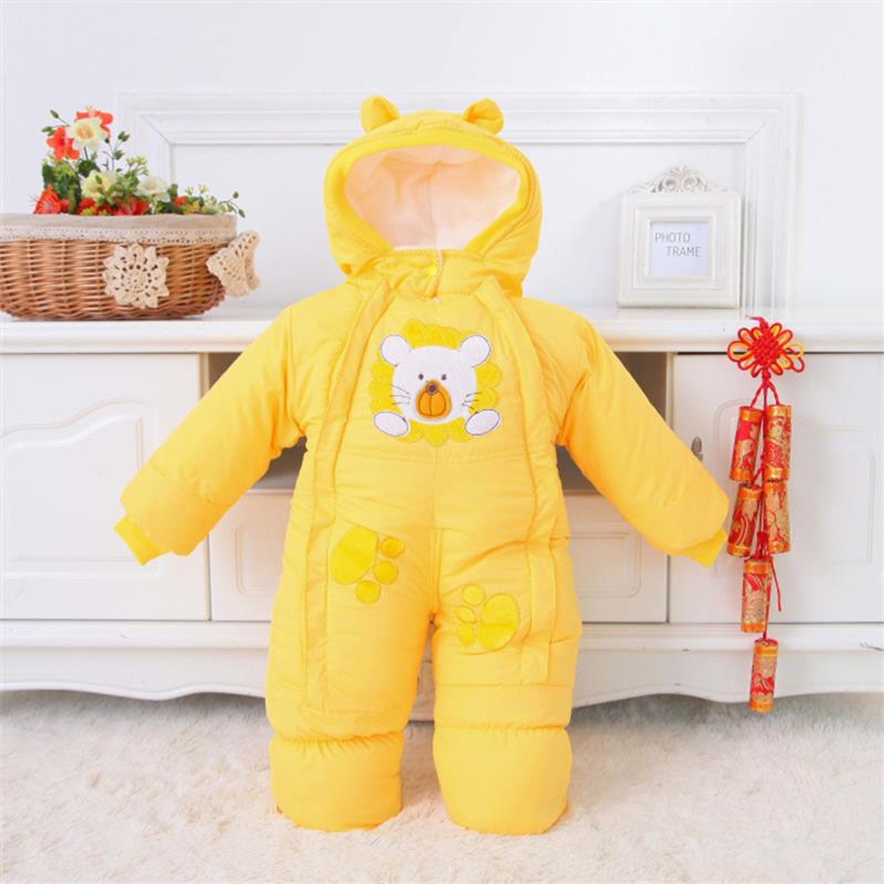 0a393035501a ... Baby Clothes Winter Autumn Style Newborn Baby Rompers New Cotton-padded  Baby Boys Girls Jumpsuits ...