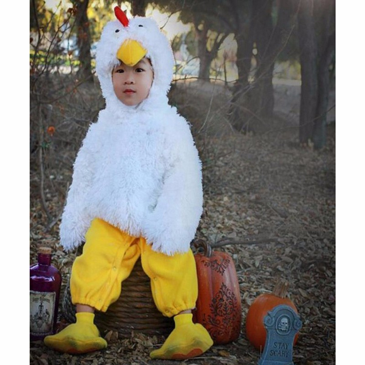 a121bf6879a ... Baby props for photography infant rooster chicken animals costume  studio clothes pajamas purim cosplay jumpsuit ...