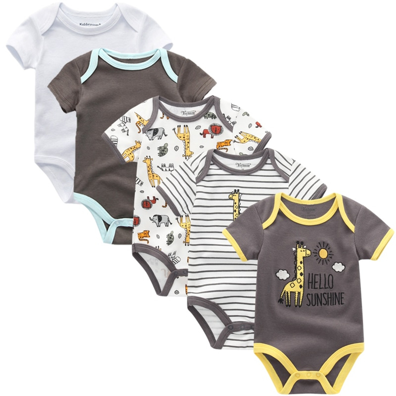 b0f19e3aebcc 2018 Summer cotton Baby Rompers Toddler Jumpsuit spring Baby Girls ...