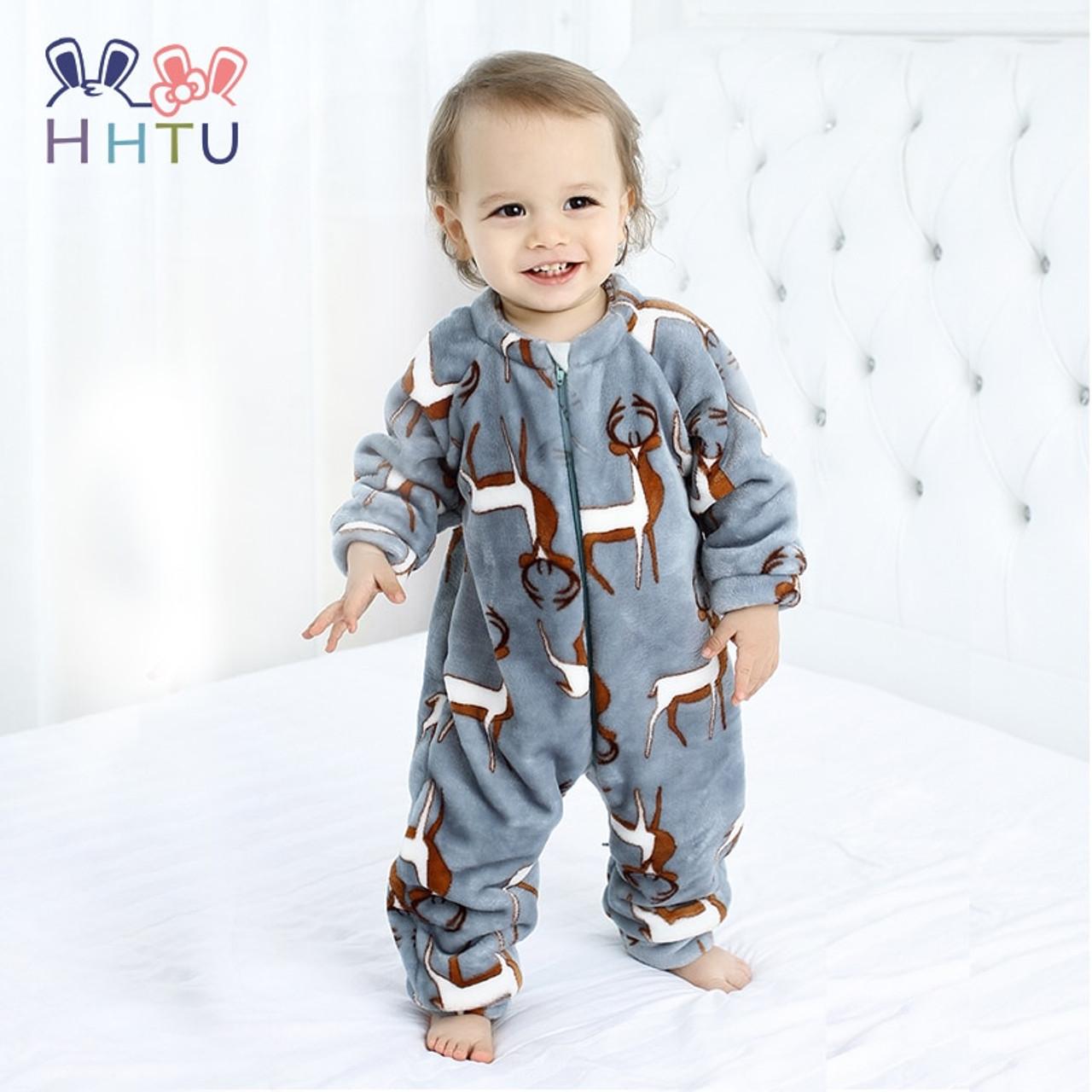 7e85c4cae HHTU 2018 Infant Romper Baby Boys Girls Jumpsuit Newborn Clothing ...