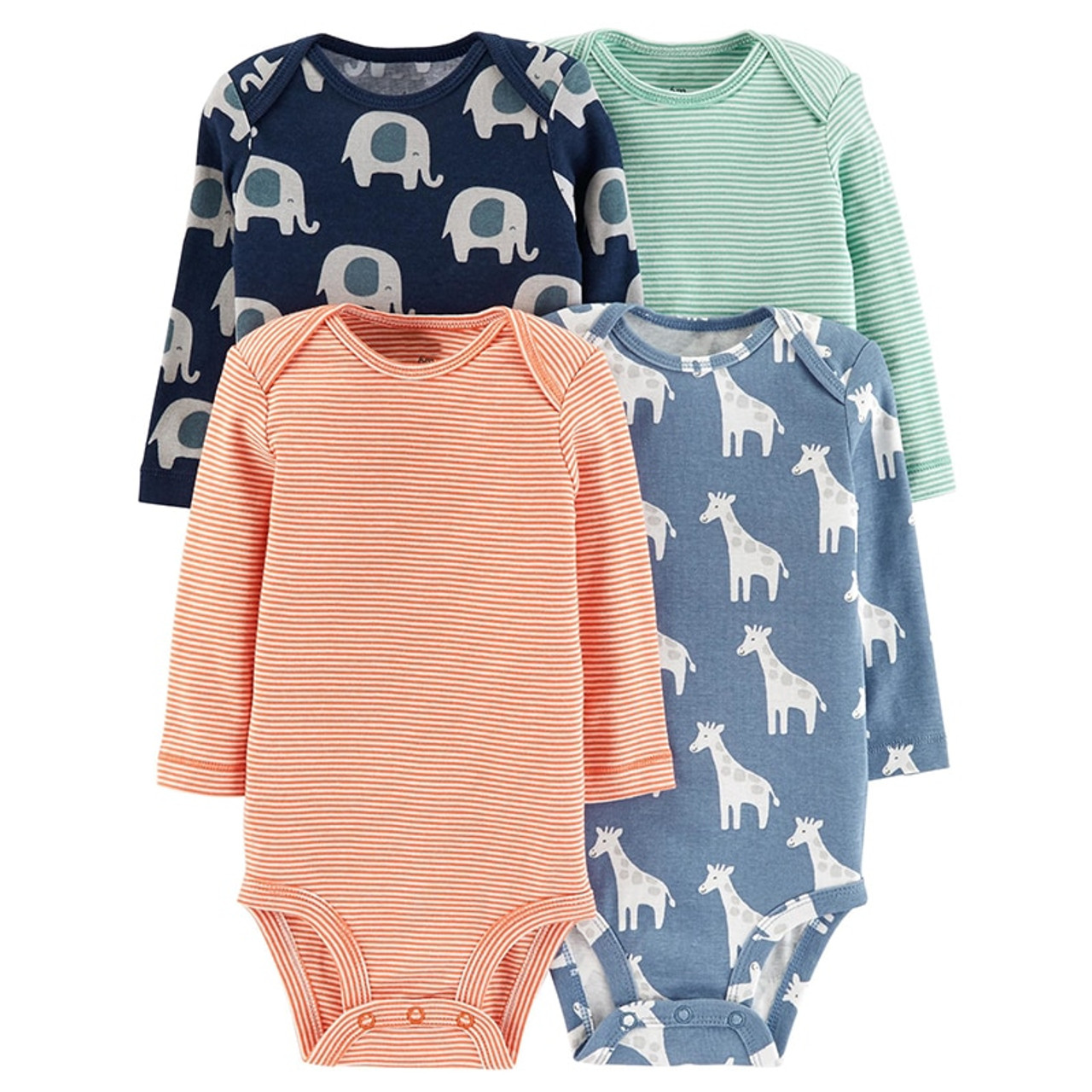 2a54526b083b ... 6pcs baby girl rompers 2018 newborn baby clothes long sleeve clothing  romper baby jumpsuit cute rabbit ...