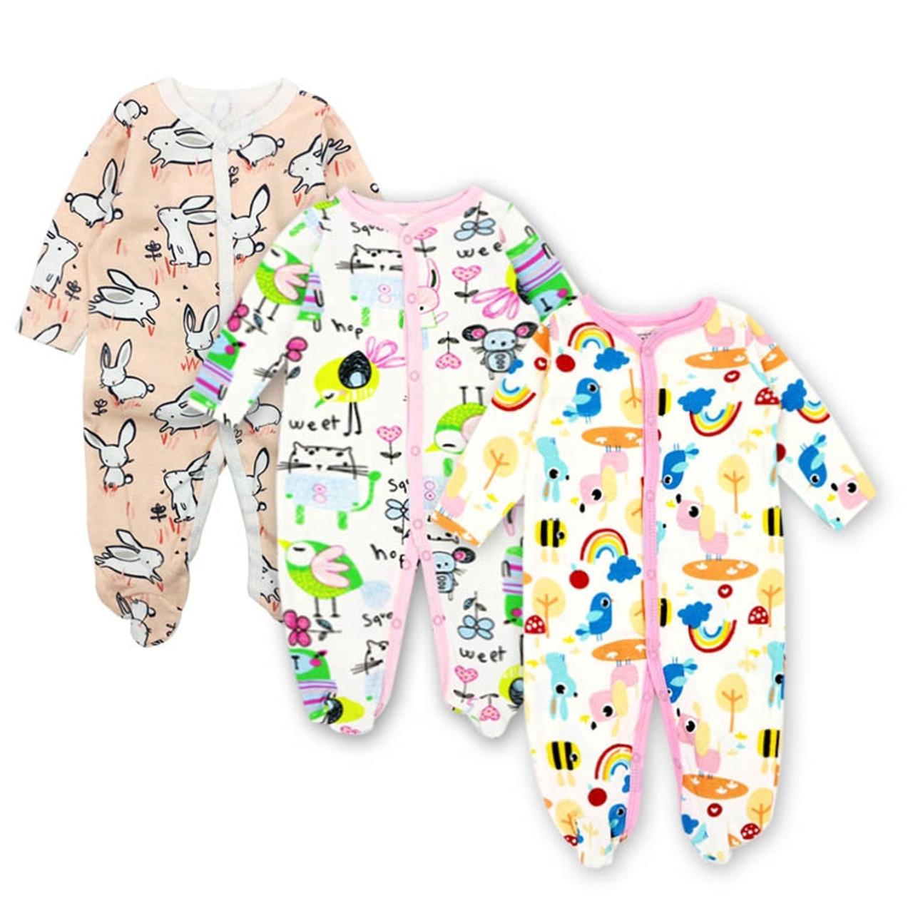 57c000c9b25b Baby Clothing Newborn jumpsuits Baby Boy Girl Romper Clothes Long ...