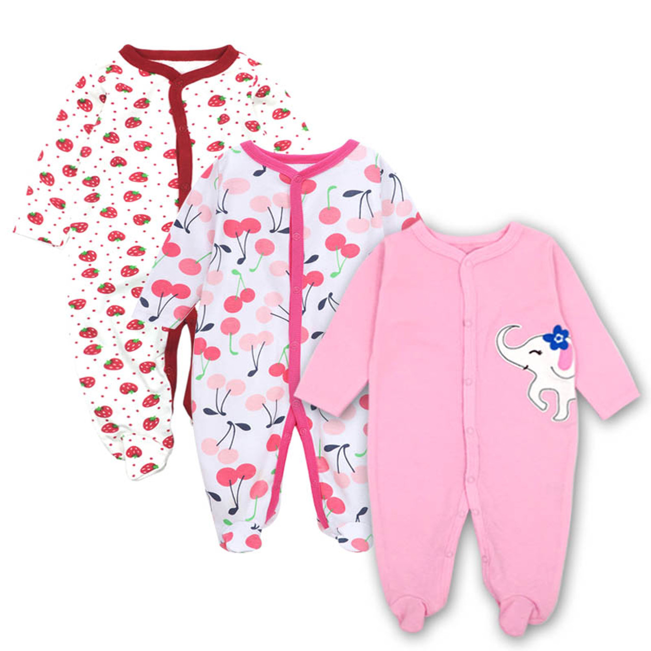 381f38435f39c ... Baby Clothing Newborn jumpsuits Baby Boy Girl Romper Clothes Long  Sleeve Infant Product 2018 NewBaby Clothes ...