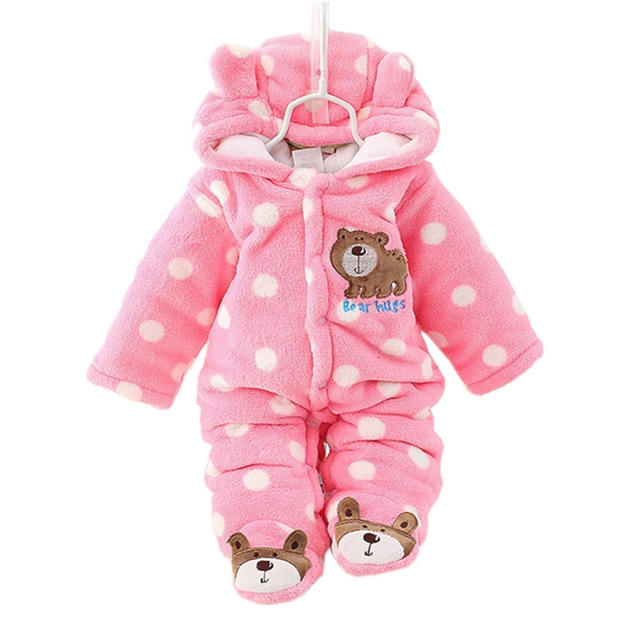 78b305bce Cotton Baby Rompers Winter Baby Boy Clothes 2017 Baby Girl Clothing ...