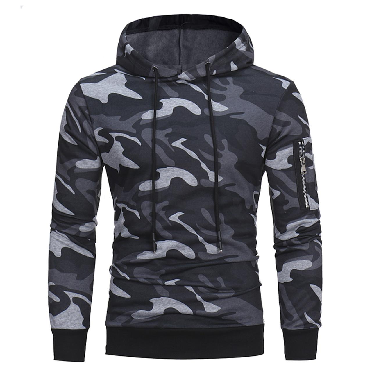 08a00ca0fc36 ... Men s Hoodies 2017 Brand Long Sleeve Sweatshirt 3D Hoodies Camo Printed  Hoodie Casual Hooded Tracksuit Big ...